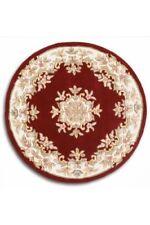 Tapis rouge pour le salon, 120 cm x 120 cm