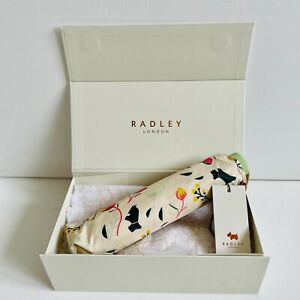 RADLEY Gift Boxed Blooming Botannicals Umbrella - BNWT