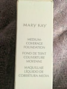 Mary Kay Medium-Coverage Foundation Makeup Bronze 607, NIB **USA SELLER**