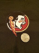 FLORIDA STATE SEMINOLES IRON ON PATCH MADE IN THE USA 3inx3in