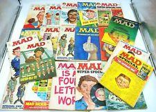 Lot (20) Vintage 1970s MAD Magazines