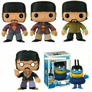 Limited Funko POP The Beatles Rock/Pop Singer Action Figures Punk Toy Kids Gift