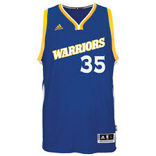 Kevin Durant Golden State Warriors adidas Road Swingman climacool Jersey M Royal