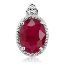 White Gold SI2 1.00 - 1.24 Fine Diamond Necklaces & Pendants