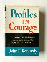 1964 Profiles in Courage John F. Kennedy Memorial Edition Robert F. Kennedy HCDJ