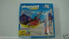 Playmobil 3194 Polar researcher sled rare  Never Opened MIBNO geobra 146