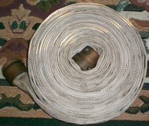 Vintage 50' National Fire Hose