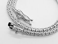18K White Gold Tennis Bracelet - 1.50ct Round Brilliant Cut Certified Diamonds