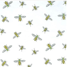 Buzzing Bee Gift Wrap Tissue Paper-10 Large Printed Patterned Sheets
