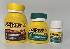 BAYER BACK & BODY 500 MG 100 CAPS + 2 LOW DOES 81MG 152 SAFETY COATED TABLETS