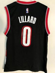 Adidas NBA Jersey Portland Trailblazers Damian Lillard Black Alt sz XL