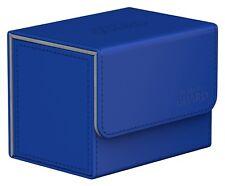 Ultimate Guard Sidewinder CHROMIASKIN Deck Case 80+ Blue 010853