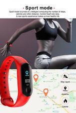 Reloj con Banda inteligente Rastreador de fitness Pulsera Pulsera desciende heartrate M3 V