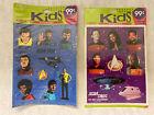 Star Trek and Star Trek Deep Space Nine Vintage Stickers- NEW