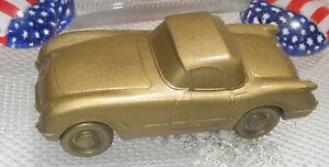 Corvette Car Piggy Bank 1954 1955  1953 by Banthrico Chicago 1974