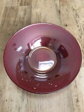 NEXT Red Glass Decorative Plate