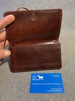 Leather Tobacco Pouch TPZ Handmade Buffalo 50gm Smoking Billy Goat Designs
