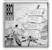 883 - NORD SUD OVEST EST FRIDGE MAGNET IMAN NEVERA