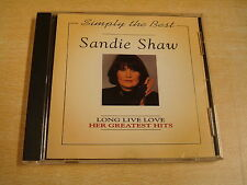 CD / SANDIE SHAW - LONG LIVE LOVE - HER GREATEST HITS