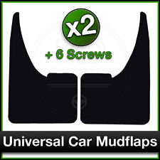 UNIVERSAL Car Mudflaps for SKODA Rubber Mud Flaps Front OR Rear Fitment PAIR