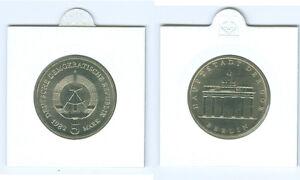 5 Mark Porte de Brandebourg Pièce Monnaie / Exporter (Choisissez Deux : 1979 -