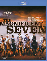 MAGNIFICENT SEVEN, The (Blu-ray) YUL BRYNNER, STEVE McQUEEN, ELI WALLACH / New!