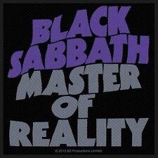 BLACK Sabbath-Patch ricamate-Master of Reality 10x10cm