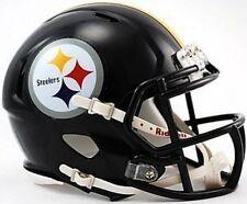 Pittsburgh Steelers Riddell NFL Team Revolution SPEED Mini Helmet 6-Pack Case