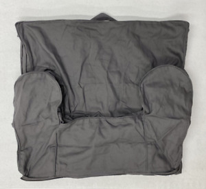 Pottery Barn KIDS Anywhere Chair Slipcover~REGULAR~Charcoal Gray~NO MONO