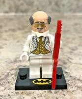 Genuine LEGO Minifigure - Disco Alfred - Complete fr Batman Series 2 - tlbm26