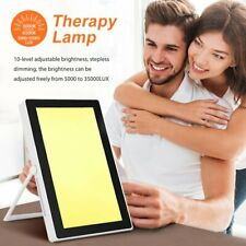 35000 LUX Light Therapy SAD Lamp Seasonal Affective Disorder Mood Daylight Box