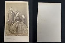 Levitsky, Paris, Napoléon III, l'impératrice Eugénie et le prince impérial