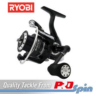 Ryobi Shock Spinning Reels - 1000 2000 3000 or 4000 Size Reel