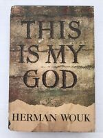 Wouk, Herman THIS IS MY GOD  1st Edition Vintage First Edition Rare Book