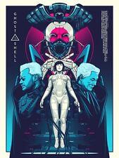 Ghost in the Shell Manga Alternative Movie Poster Amien Juugo no 1/75 NT Mondo