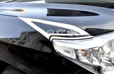 Front Head light lamp Eyelid Cover Trim for Toyota Land Cruiser LC200 2008-2015