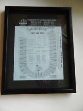 rare 1977 BC LIONS ticket prices poster EMPIRE STADIUM seating VAN CITY CREDIT U