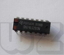 SN74LS290N TI Counter ICs Decade Counters 14-PDIP 0 to 70