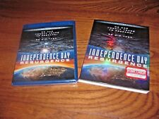 Independence Day 2 Resurgence Blu-ray + DVD + Digital HD BRAND NEW + I Ship Fast