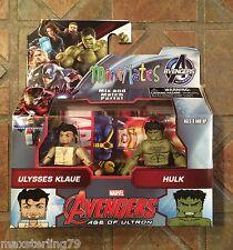 Marvel Minimates ULYSSES KLAUE & HULK TRU Avengers 2 Age Of Ultron Movie Wave