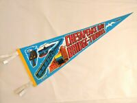 Chesapeake Bay Bridge-Tunnel Felt Pennant Vintage Souvenir Flag Virginia Highway