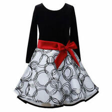 NWT girls BONNIE JEAN Hipster Dress Sz 4  $60 tag Great for the Holidays