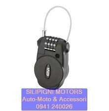 Lucchetto a Chiave retraibile con Combinazione Antifurto sicurezza Moto Givi