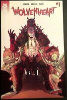 WOLVENHEART #1 NYCC 2019 EXCLUSIVE VARIANT NM ONLY 50 MADE MAD CAVE STUDIOS