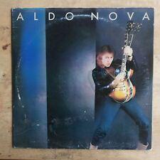 Aldo Nova Self-Titled 1982 Vinyl LP Portrait Records PR 37498