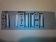 like NOS 1968 Buick  Heat Only   Control faceplate Skylark GS GS400 A body