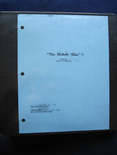 ORIGINAL ARCHIVE of HOLLOW MAN Production Material & Script KEVIN BACON Film