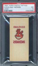 1964 Topps Photo Tattoo Cleveland Indians Logo PSA 5