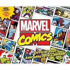 Marvel Comics Official Desk Calendar 2021