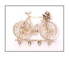 Bicycle Bike Cycling Brass Key Hook Four Key Hooks NEW